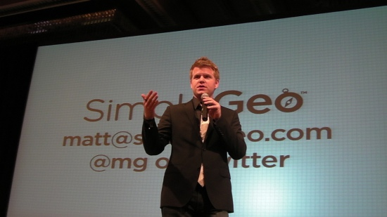 Matt Galligan during his SimpleGeo days | Photo: by magerleagues on Flickr