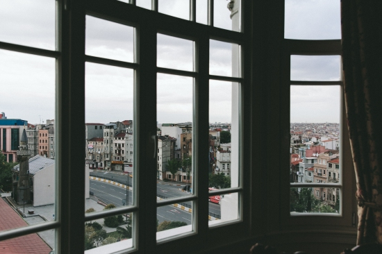 I woke up in Armada Pera Hotel, Istanbul, from the humming of the Muslim prayers and a couple 'playing cards' on the other side of the plaster walls.