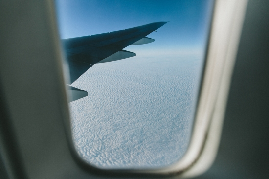 There are fundamentally three things to do when flying, close your eyes from the onslaught of the dry air and rest, burn your eyes from onboard entertainment and curiosity or look out the window every so often and notice the atlantic blanket never changes.