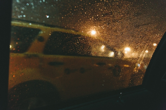 From Istanbul to New York city, the rain continues to play with the taxi drivers.