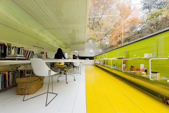 Selgas Cano Architects office. Photo asdsad.com