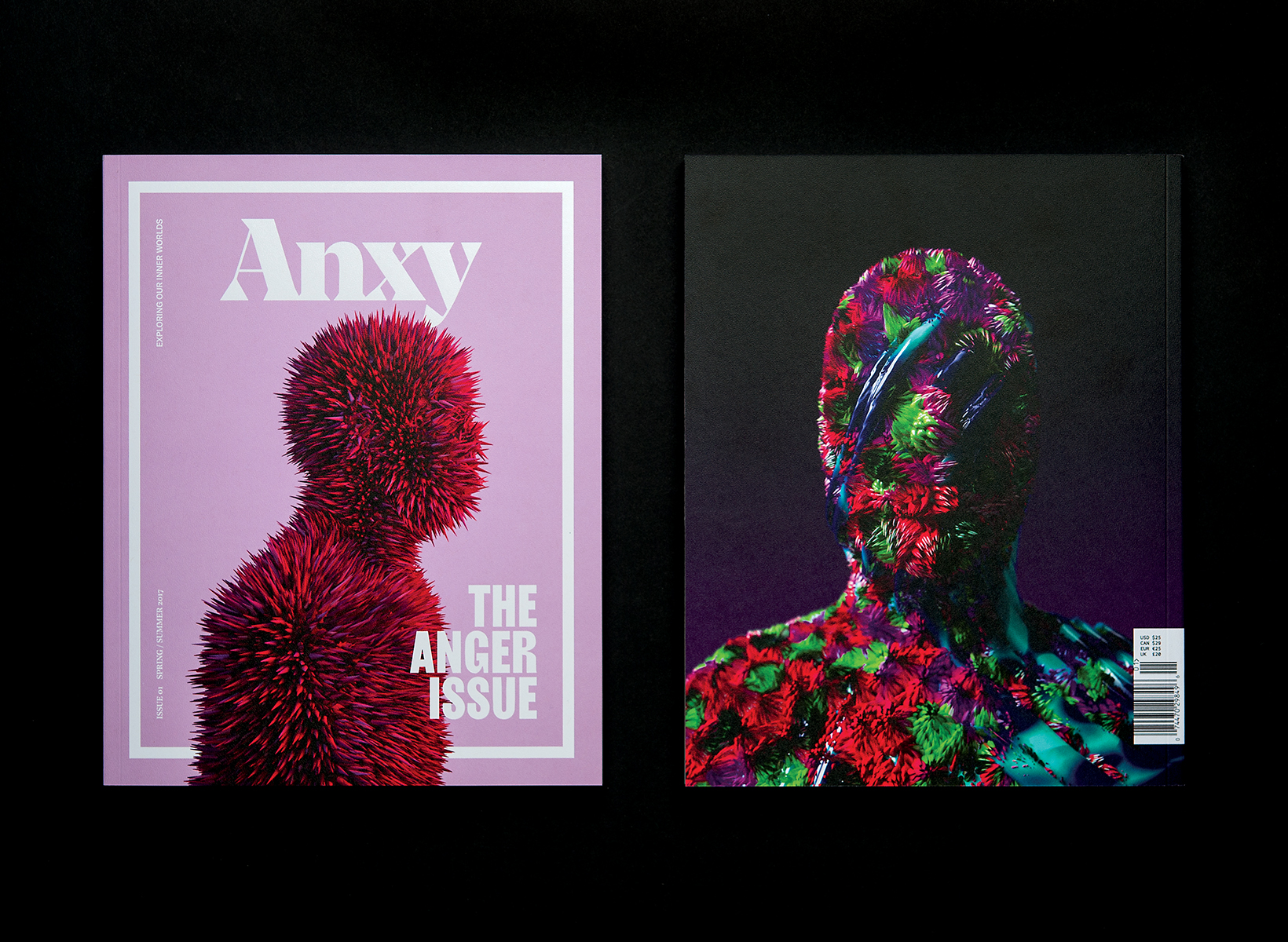 Indhira Rojas is the founder of Anxy, a magazine about creatives' inner worlds. Image courtesy of Rojas.