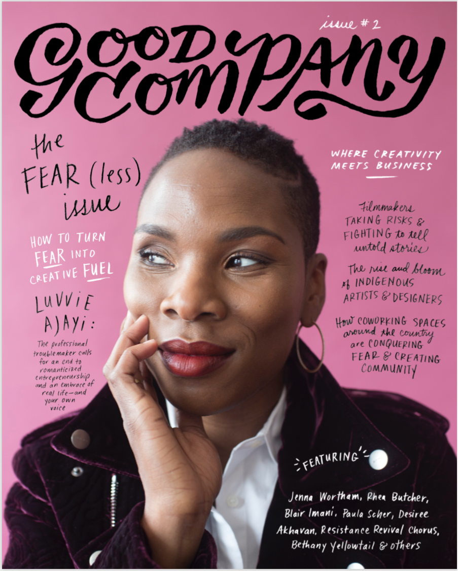 The cover of Good Company magazine.