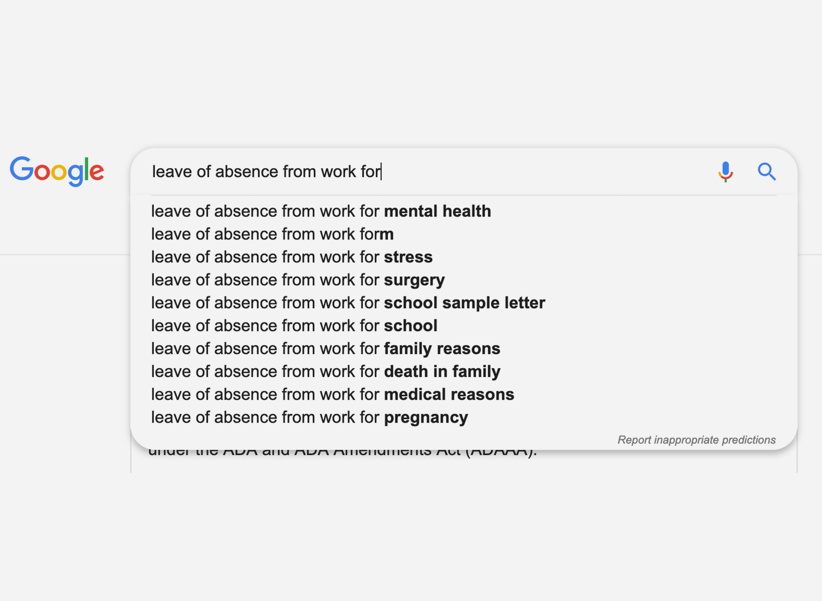 """google search results for """"back to work"""""""