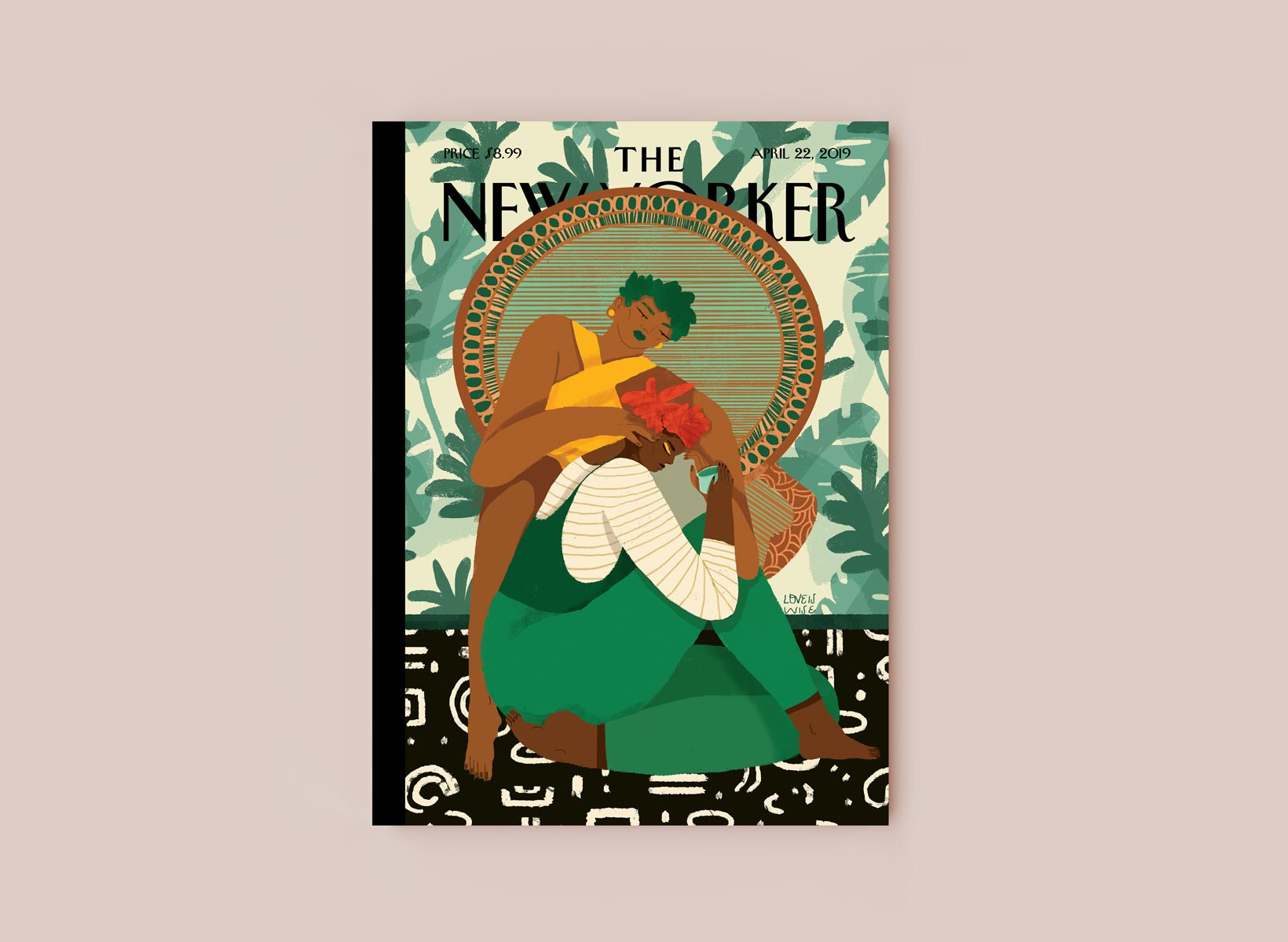 New Yorker cover by Loveis Wise.